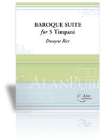 Baroque Suite for 5 Timpani