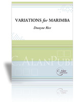 Variations for Marimba