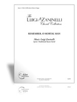 Remember, O Mortal Man (choral score)