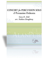 Concerto for Percussion Solo & Percussion Ensemble