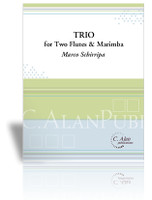 Trio for Two Flutes & Marimba