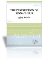 Destruction of Sennacherib, The (Perc Ens 7 + Spoken Voice)
