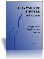 Dog Walkin' Shuffle (Jazz Ens Gr. 1)