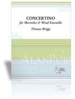 Concertino for Marimba and Wind Ensemble (piano reduction)