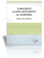 Concerto in One Movement for Marimba (piano reduction)
