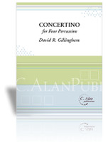 Concertino for 4 Percussion (piano reduction)
