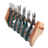 Wubbers ProLine Pliers -- Set of Six, FREE Wooden STand