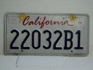 CALIFORNIA Lipstick License Plate 22032B1