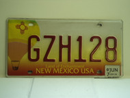 2007 NEW MEXICO Land Of Enchantment License Plate GZH128