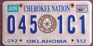 Oklahoma Cherokee Nation 2007 2