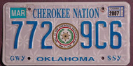 Oklahoma Cherokee Nation 2007 3
