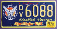 New Mexico Disabled Veteran Permanent 1