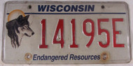 Wisconsin License Plate Endangered Resources