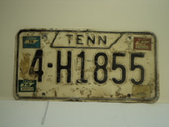 1973 1974 1975 1976 TENNESSEE License Plate 4 H1855