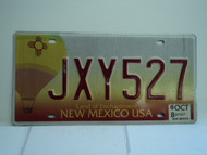 2008 NEW MEXICO Land of Enchantment License Plate JXY527