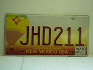 2008 NEW MEXICO Land Of Enchantment License Plate JHD211