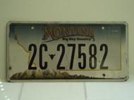 MONTANA Big Sky License Plate 2C 27582