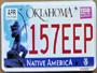 New Oklahoma License Plate