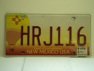 2008 NEW MEXICO Land Of Enchantment License Plate HRJ116