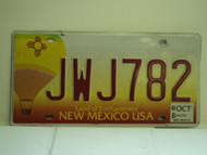 2008 NEW MEXICO Land Of Enchantment License Plate JWJ782