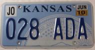2010 Jun Johnson Co Kansas 028 ADA License Plate