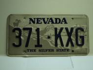 NEVADA Silver State License Plate 371 KXG