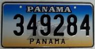Panama 349284 License Plate