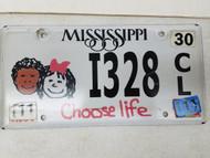 2011 Mississippi Choose Life Kids License Plate I328
