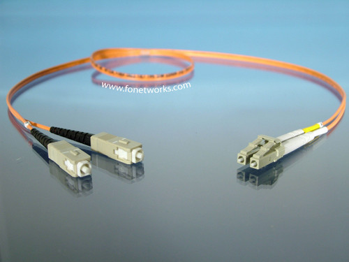 Multimode 50/125 Duplex Cable Assembly LC/SC