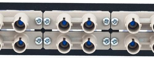MAP Series Adapter Plates - 12 ST Multimode Duplex Beige