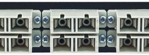 MAP Series Adapter Plates - 12 SC/ST Multimode Duplex Beige (SC Front/ST Rear)