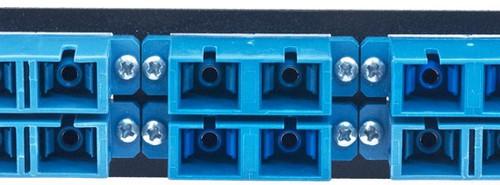 MAP Series Adapter Plates - 12 SC/ST Singlemode Duplex Blue (SC Front/ST Rear)
