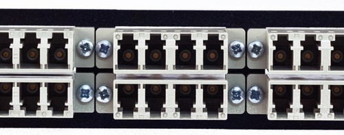 MAP Series Adapter Plates - 24 LC Multimode Quads Beige