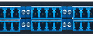 MAP Series Adapter Plates - 24 LC Singlemode Quads Blue