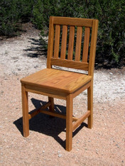 "Children's Chair, Red Oak 14"" Seat Height - Honey Brown Finish"