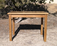 "Children's Table, Red Oak 22"" H - Honey Brown Finish"
