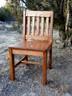 Child Chair 14in seat height Dark Oak finish
