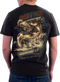 Men's Army T-Shirt - US Army OEF-OIF Iraqi and Afghanistan Vets - Model - Back