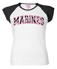 Lady's Shirt - Marines Zebra Lady Women's T-shirt