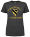 Lady's Army T-Shirt - 1st Cavalry of US Army First Team
