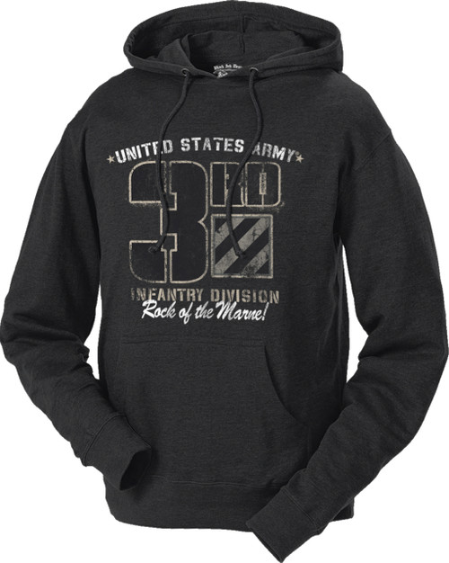 Men's and Women's Hoodie - 3rd Infantry US Army Retro Hooded Sweatshirt