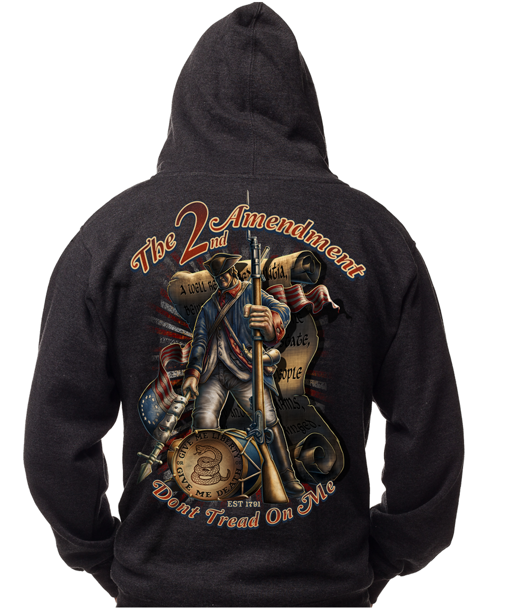 Don t tread on me hoodie