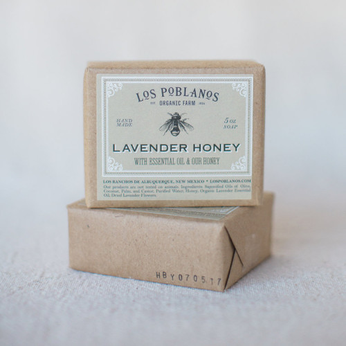 Los Poblanos : Lavender Honey Bar