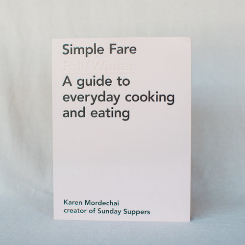 Simple Fare Fall / Winter Cookbook