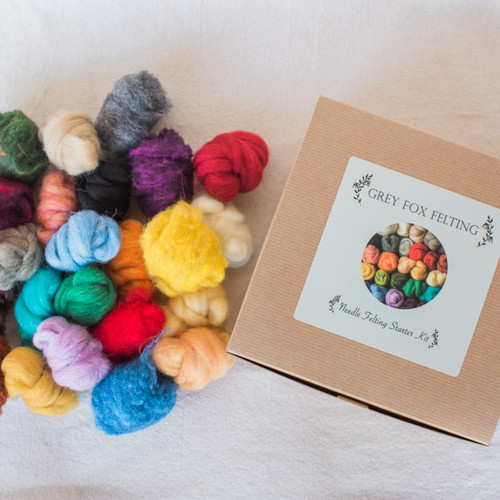Grey Fox Felting : Needle Felting Starter Kit