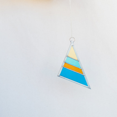 Debbie Bean : Stained Glass Triangle