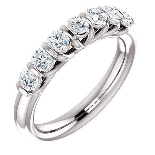 7-Stone Diamond Anniversary Ring