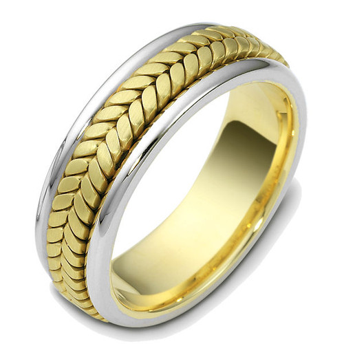 Hand Crafted Braided Wedding Ring | PJ427