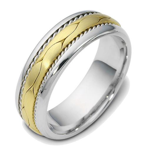 Braided Wedding Ring | PJ429