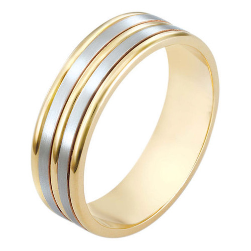 Classic 6.5 MM Wide Wedding Band | PJ434